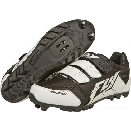 Fly Racing Shoes Talon II black-white