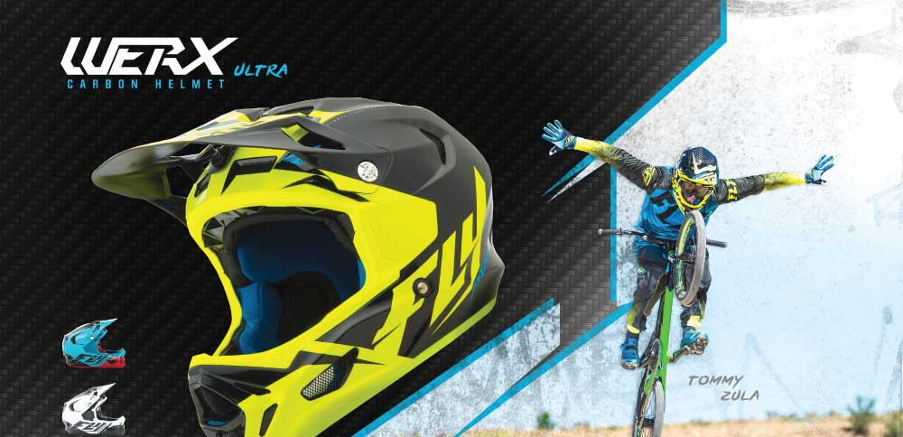Fly Racing Mountainbike Werx Mips Helm