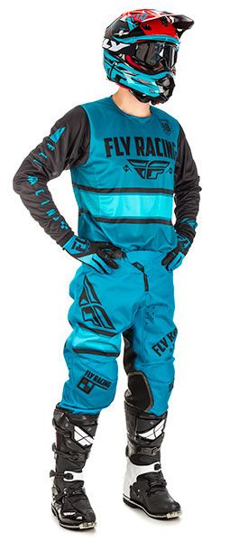 Fly Racing Kinetic Blau / Schwarz