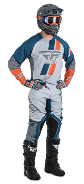 Fly Racing Evotultion DST Navy / Grau / Orange