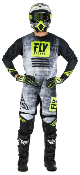 Fly Racing Kinetic Noiz Black / Hi-Vis