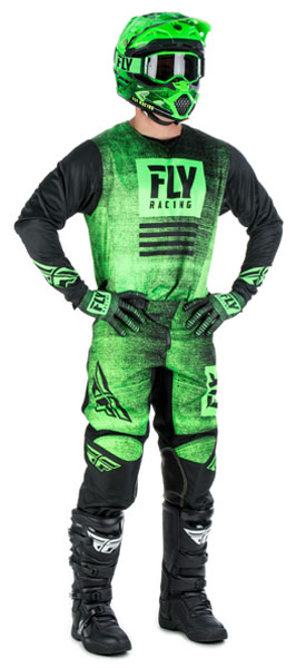 Fly Racing Kinetic Noiz Green / Black