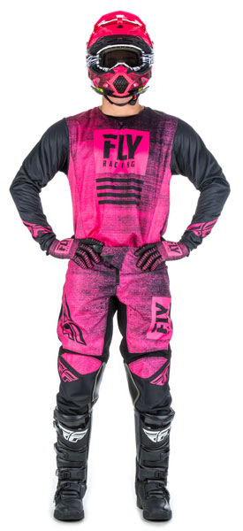 Fly Racing Kinetic Noiz Pink / Black