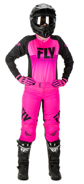 Fly Racing Women's Lite Neon-Pink / Hi-Vis