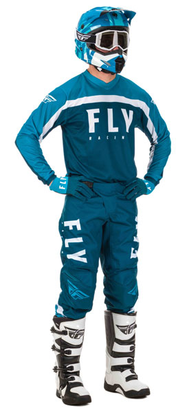 Fly Racing F-16 Navy / Blau / Weiß