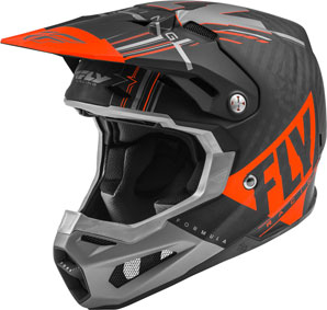 Fly Racing Formula Matt Orange / Grau / Schwarz