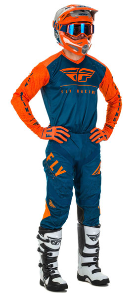 Fly Racing Lite Orange / Navy