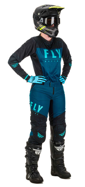Fly Racing Women Navy / Blau / Schwarz