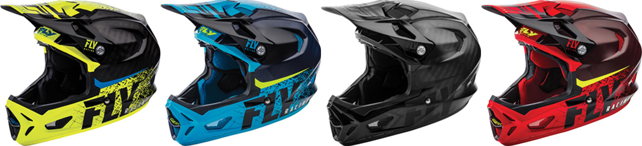 Fly Racing MTB WERX IMPTINT Carbon Helm